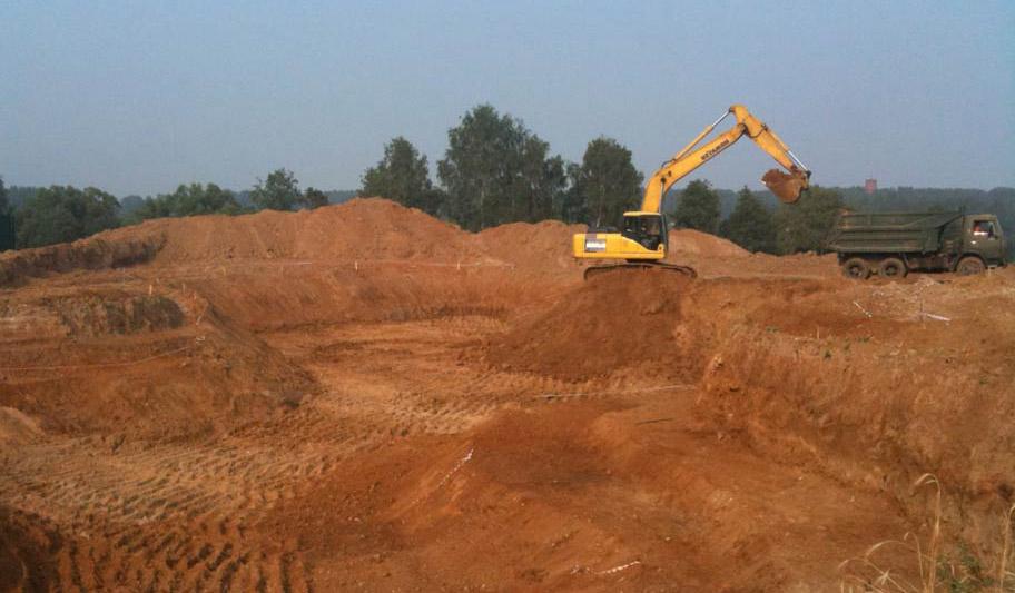 Строительство искусственного пруда на участке iBud.ua